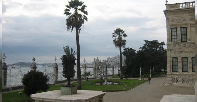 Парк с видом на Босфор