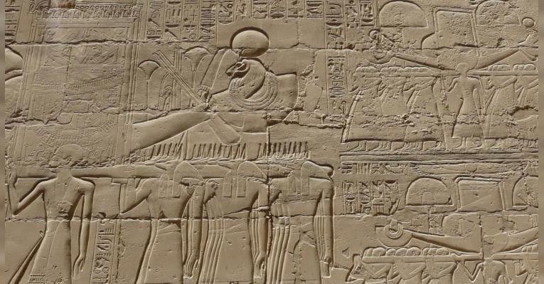изображение на одной из стен храма