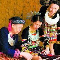 Деревня народностей Ли и Мяо
