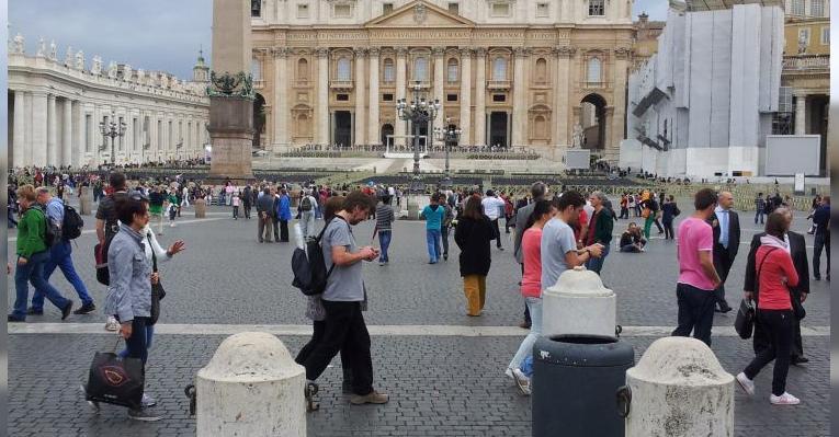 Собор святого Петра снаружи