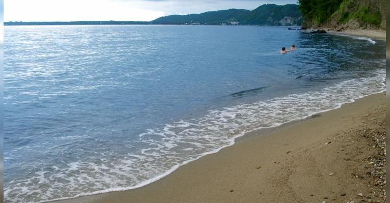 Пляжи Пицунды. Абхазия