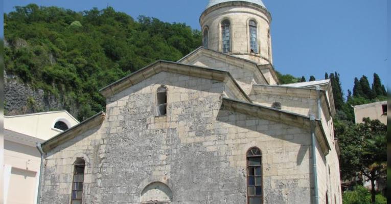 Храм Святого апостола Симона Кананита. Абхазия