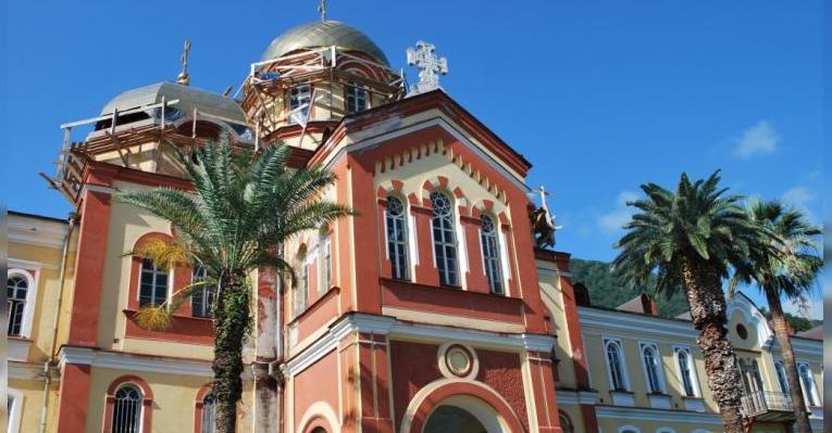 Церковь Вознесения Господня. Новоафонский монастырь. Абхазия