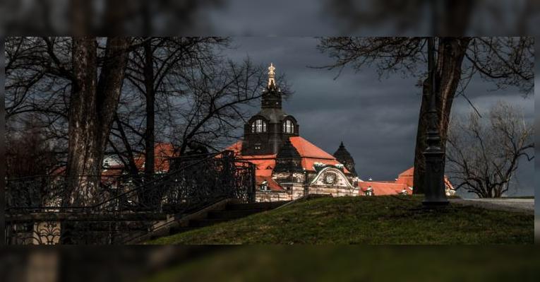 Государственная канцелярия Саксонии. Дрезден