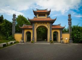Пагода Трук Лам на острове Хон Тре
