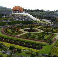 Нонг Нуч тропический ботанический сад