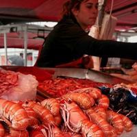 Рыбный рынок в Мале