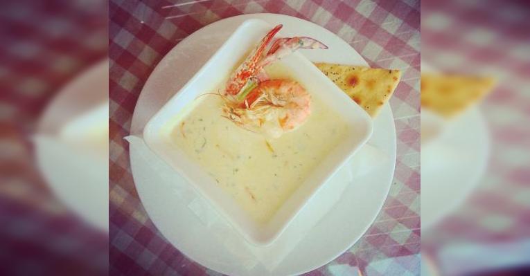 Суп с морепродуктами  Soup sea food