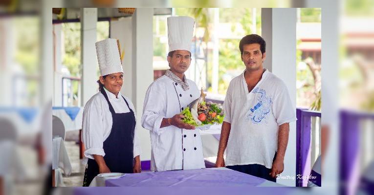 Шеф-повар и хозяин ресторана