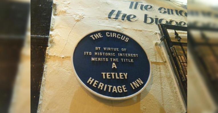 Эмблема Tetley Heritage