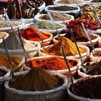 Рынок специй Кхари Баоли