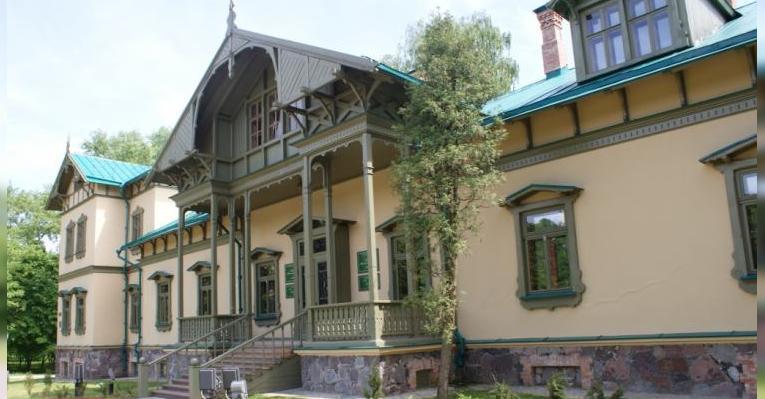 Музей-усадьба в Лошицком парке. Минск