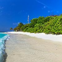 Пляж острова Фериду