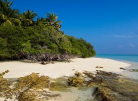 Пляж острова Фехенду