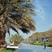 Пляж Аль Корниш