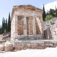 Руины города Дельфы