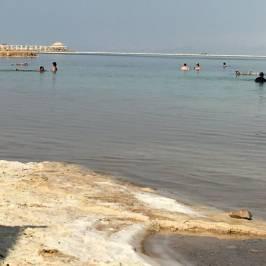 Пляж Минерал на Мертвом море