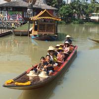 Плавучий рынок Паттайи