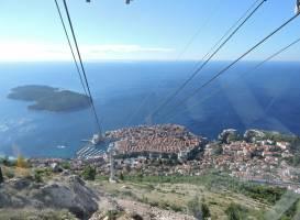 Канатная дорога в Дубровнике