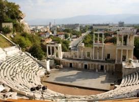 Римский театр в Пловдиве