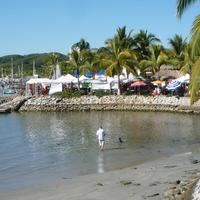 La Cruz de Huanacaxle Fish Market
