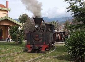 Historische Eisenbahn von 1903