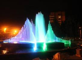 Music and Light Fountain