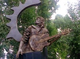 Памятник Виктору Цою