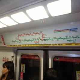 Система скоростного транспорта Сингапура