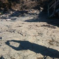 Yacimiento de Icnitas de la playa de la Griega