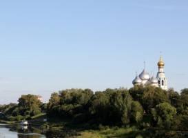Набережная реки Вологда