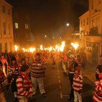 Lewes Bonfire Night Celebrations