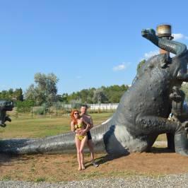 Скульптура Динозавры