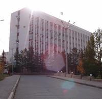 Здание облисполкома Караганды