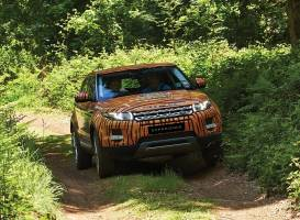 Land Rover Start Off-road