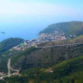 Параплан Черногория