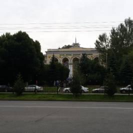 Здание Казахского сельскохозяйственного института