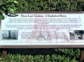 The Three Lost Children Walk & Monument