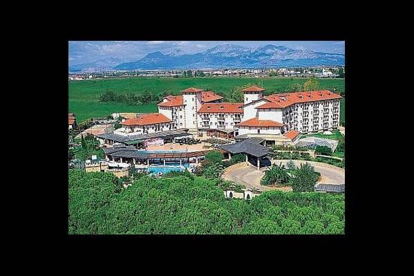 Общий вид на отель