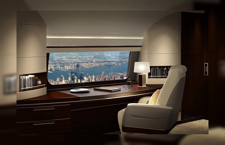 "США: ""Боинг"" создаст панорамные окна для самолётов"