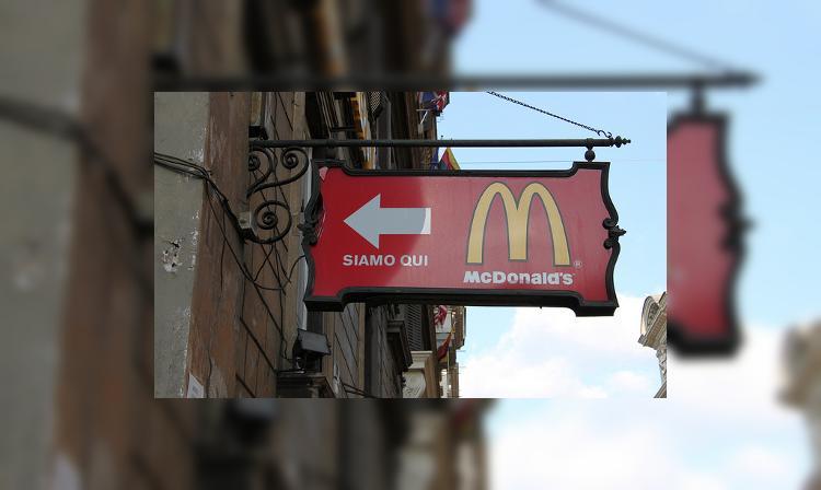 Ватикан обзавёлся собственным Макдоналдсом