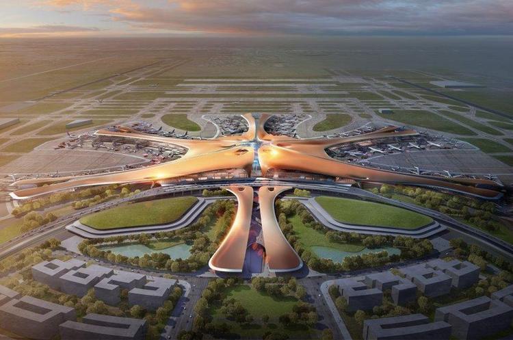 В Пекине строится новый крупный аэропорт
