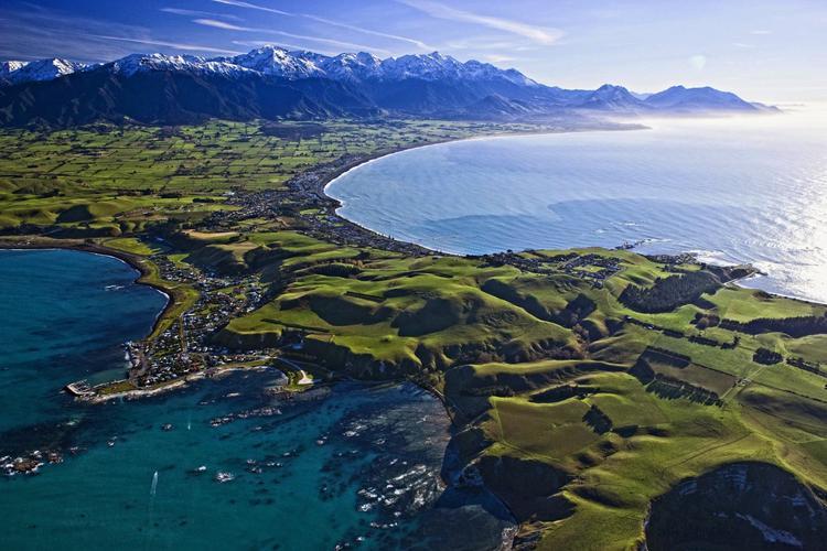 Полуостров Каикоура. Фото: Путешествия по Новой Зеландии