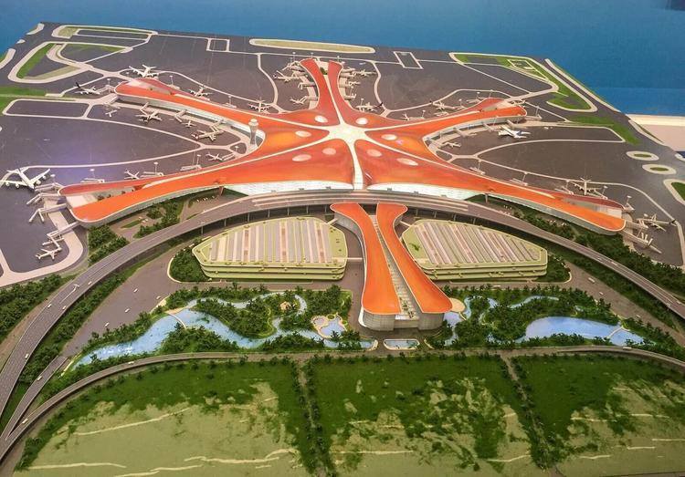 Новый китайский мега-аэропорт стоимостью 11,5 миллиардов готов к открытию