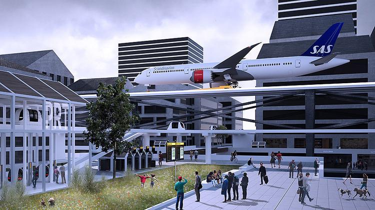 «Пассажирам нигде не придется стоять». Какими будут аэропорты через 11 лет?