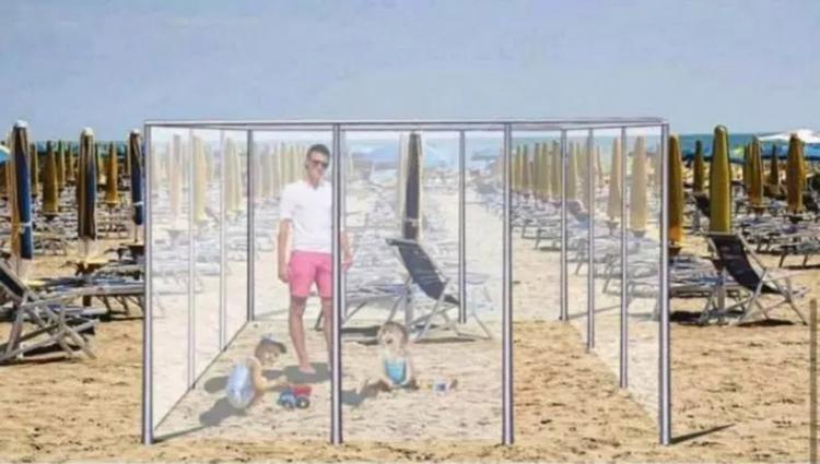 Новый формат пляжного отдыха «в коробке». Неужели нам придется к этому привыкнуть?