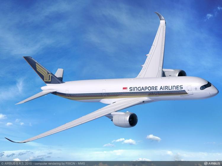 КакSingapore Airlines собираются долететь напрямую в Нью-Йорк на обычномAirbus A350-900?