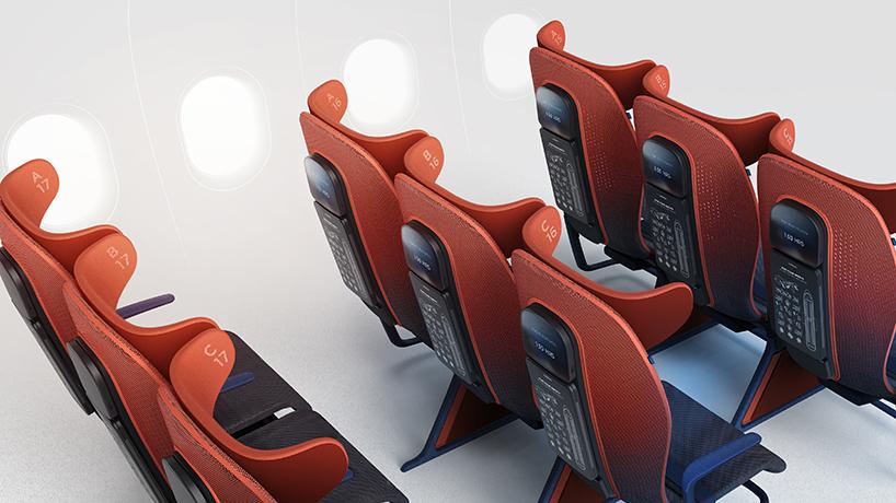 Британцы создали для пассажиров эконом-класса умное кресло 21 века