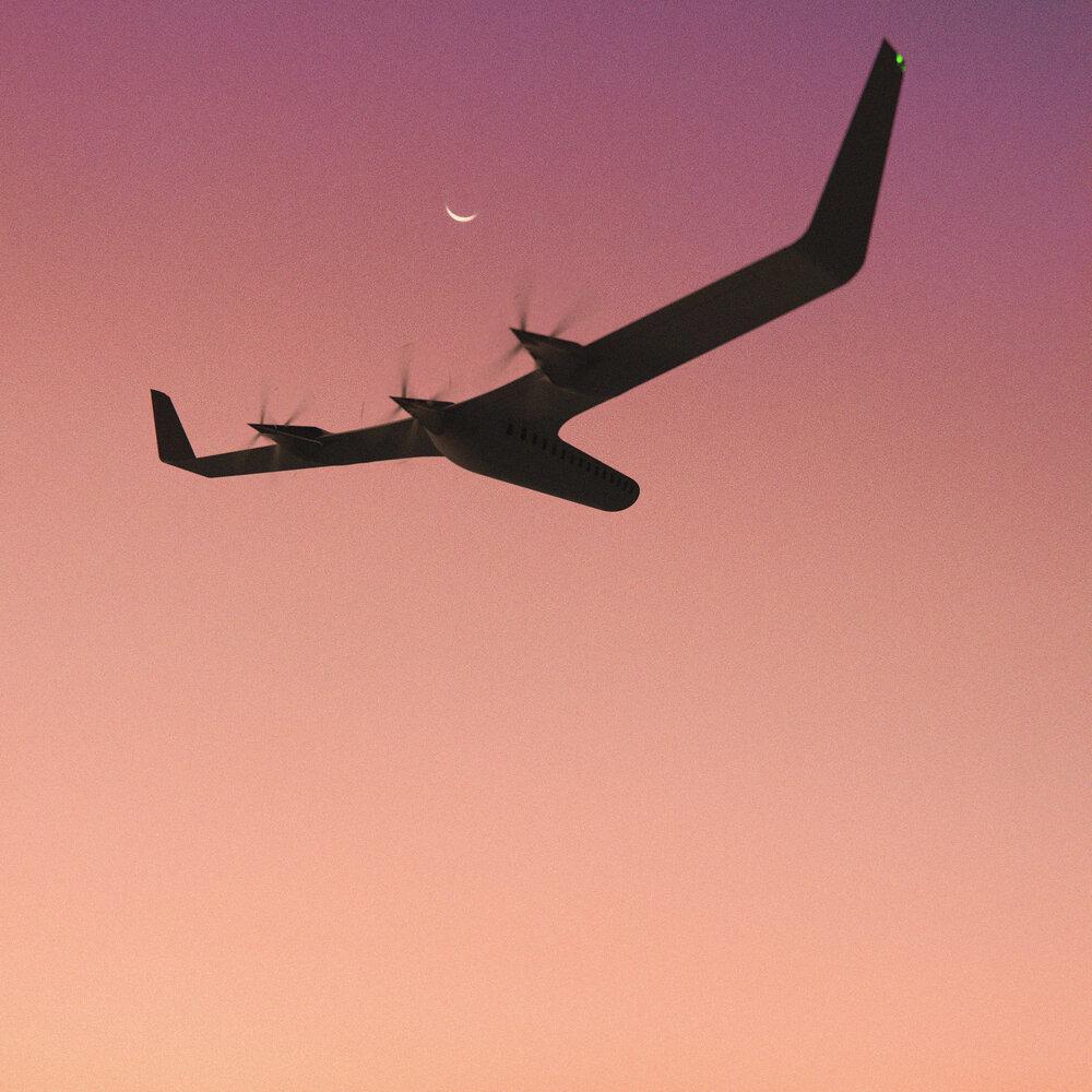Самолет-новинка в виде буквы «Т» сможет летать без керосина